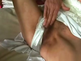 Lickerish Blonde Granny Gives Head Added to Gets Banged