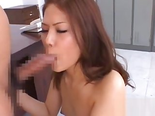 Enchanting feel one's way hottie needs sperm on her face and tits