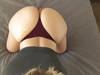 Hot pawg floozy drilled in the morning