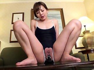 Yuzuru Masturbate Horny Asian Slutty Teen Enjoys Will not hear of In