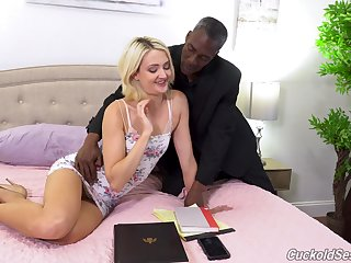 Zoe Sparx absolutely loves interracial lovemaking and she loves MMF threesomes